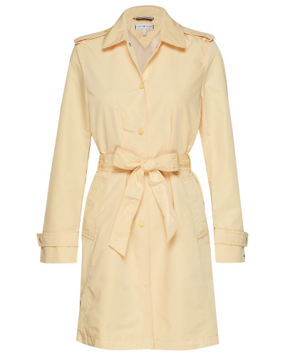 Saba Packable Trench Trenchcoat Mantel Gelb TOMMY HILFIGER