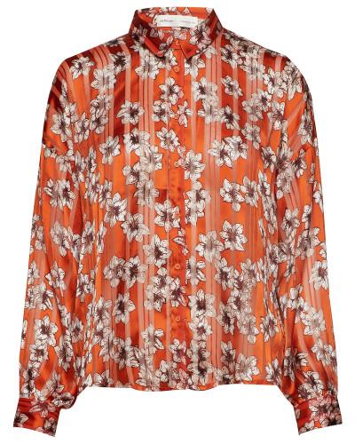 Zilmaiw Hilma Shirt Bluse Langärmlig Orange