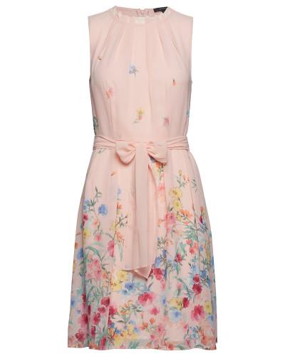 Dresses Light Woven Kleid Knielang Pink ESPRIT COLLECTION