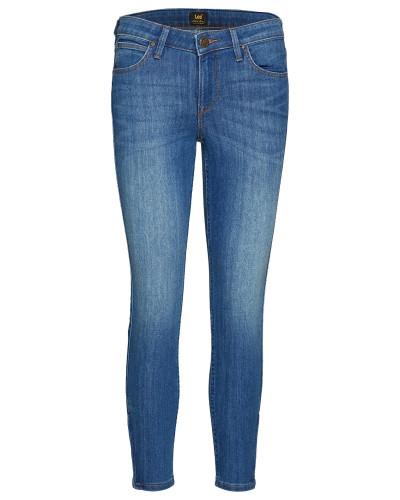 Scarlett Cropped Slim Jeans Blau