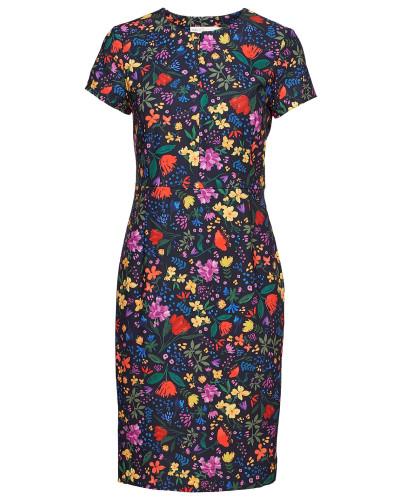 Abril Dress Kleid Knielang Bunt/gemustert INWEAR
