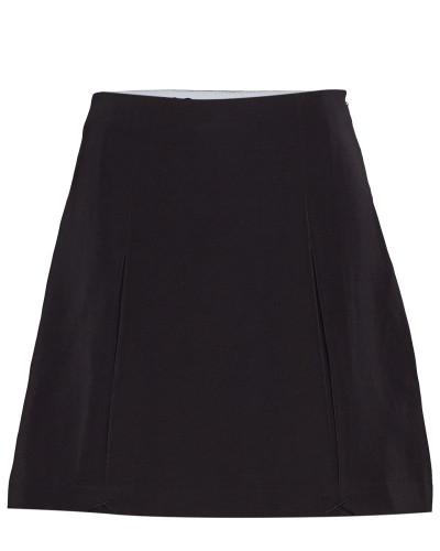 Pleated Mini Skirt Knielanges Kleid Schwarz CALVIN KLEIN JEANS