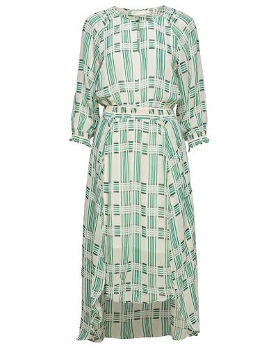 Hayden Dress Kleid Knielang Grün INWEAR