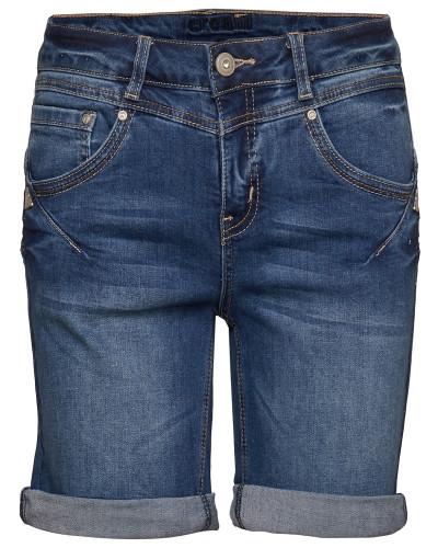 Amalie Shorts- Shape Fit Shorts Blau CREAM