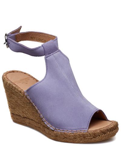 Wayfarer High Wedge Sandale Mit Absatz Espadrilles Lila ROYAL REPUBLIQ