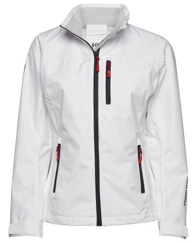 W Crew Jacket Sommerjacke Dünne Jacke Weiß HELLY HANSEN