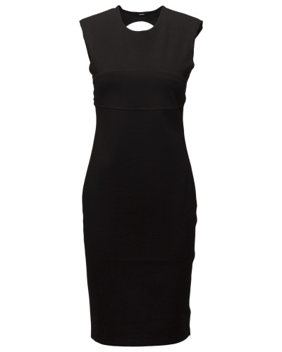 D-Stacie Dress Kurzes Kleid Schwarz DIESEL WOMEN