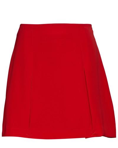 Pleated Mini Skirt Knielanges Kleid Rot CALVIN KLEIN JEANS