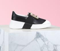 Slip-on Sneakers Viv' Skate mit Broche Schnalle aus Nappaleder