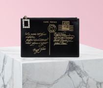 Mäppchen Très Vivier Postcard mit Reißverschluss