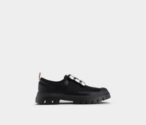 Sneakers Walky Viv' mit Strass-Schnalle aus Leder