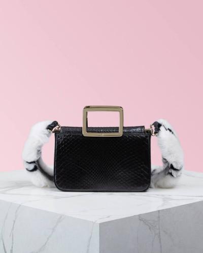 Mini Bag Viv' Twin Tartan Fur