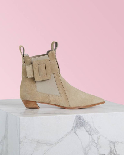 Ankle Boots Viv' Ranch Covered Buckle