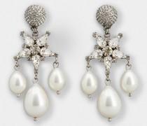 Ohrringe Sterne und Perlen