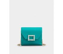Mini Portemonnaie Très Vivier Strass
