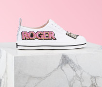 Sneaker Call Me Vivier Patch Strass