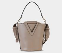 Mittelgroße Tasche RV Bucket aus Leder