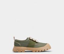 Sneakers Walky Viv' mit Strass-Schnalle aus Stoff