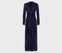 Kleid aus Besticktem Tüll