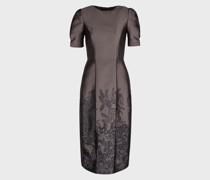 Kleid mit Jacquardverzierung