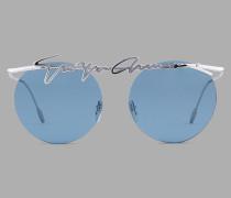 Runde Rahmenlose Sonnenbrille