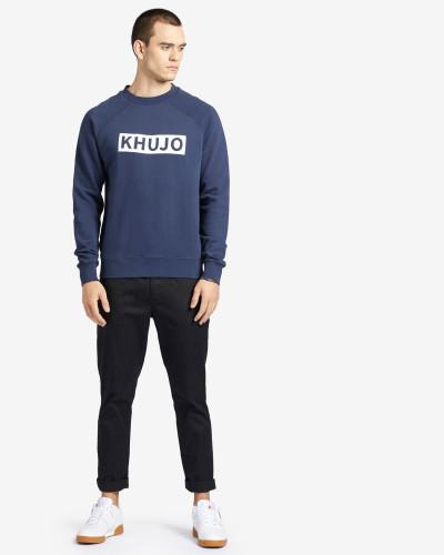 Sweatshirt ELIAZ blau
