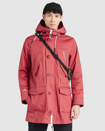 Mantel DAREL rot