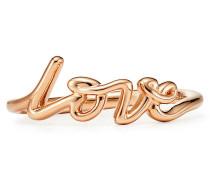 Paloma's Graffiti Love Ring in 18 Karat Roségold