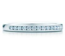Tiffany® Diamond Trauring aus Platin