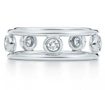 Elsa Peretti® Diamonds by the Yard® Ring in Platin mit Diamanten