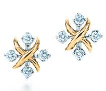 Jean Schlumberger Lynn Ohrringe aus 18 kt Gold mit Diamanten