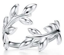 Paloma Picasso® Olive Leaf versetzter Ring in Sterlingsilber