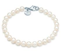 Perlenarmband mit Sterlingsilberverschluss