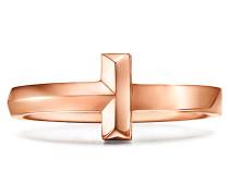 Tiffany T T One schmaler Ring in 18 Karat Roségold