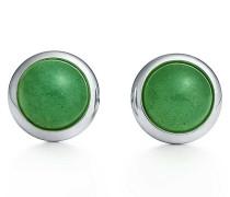 Elsa Peretti® Color by the Yard Ohrringe in Silber mit grünem Aventurin