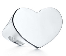 Paloma Picasso® Double Modern Heart Ring aus Sterlingsilber