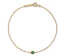 Elsa Peretti® Color by the Yard Armband in 18 Karat Gold mit einem Smaragd
