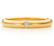 Elsa Peretti® Bandring mit einem Diamanten in 18 kt Gold
