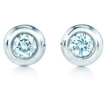 Elsa Peretti® Diamonds by the Yard® Ohrringe in Sterlingsilber