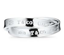 Tiffany 1837™ Ring aus zwei verschlungenen Ringen in Sterlingsilber