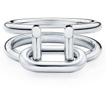 Tiffany City HardWear zweireihiger Ring in Sterlingsilber