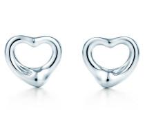 Elsa Peretti® Open Heart Ohrringe in Sterlingsilber