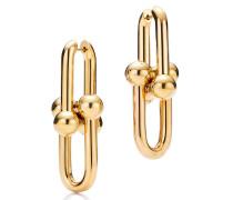 Tiffany City HardWear Gliederohrringe in 18 Karat Gold