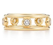 Elsa Peretti® Diamonds by the Yard® Ring in 18 Karat Gold mit Diamanten