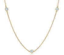 Elsa Peretti® Diamonds by the Yard® Halskette aus 18 kt Gold