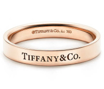 Tiffany & Co® Bandring in 18 Karat Roségold