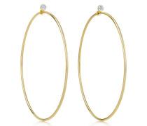 Elsa Peretti® Diamond Hoop