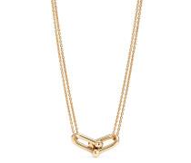 Tiffany City HardWear doppelter Gliederanhänger in 18 Karat Gold
