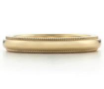 Tiffany Classic™ Milgrain Ehering in 18 Karat Gold