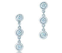 Elsa Peretti® Diamonds by the Yard® Tropfenohrringe aus Sterlingsilber